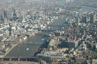 Helicopter Tour over Blackfriars