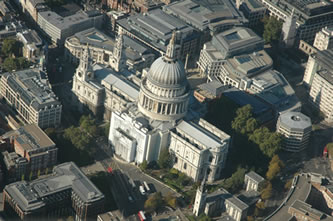Helicopter Tour over St Pauls Cathedral